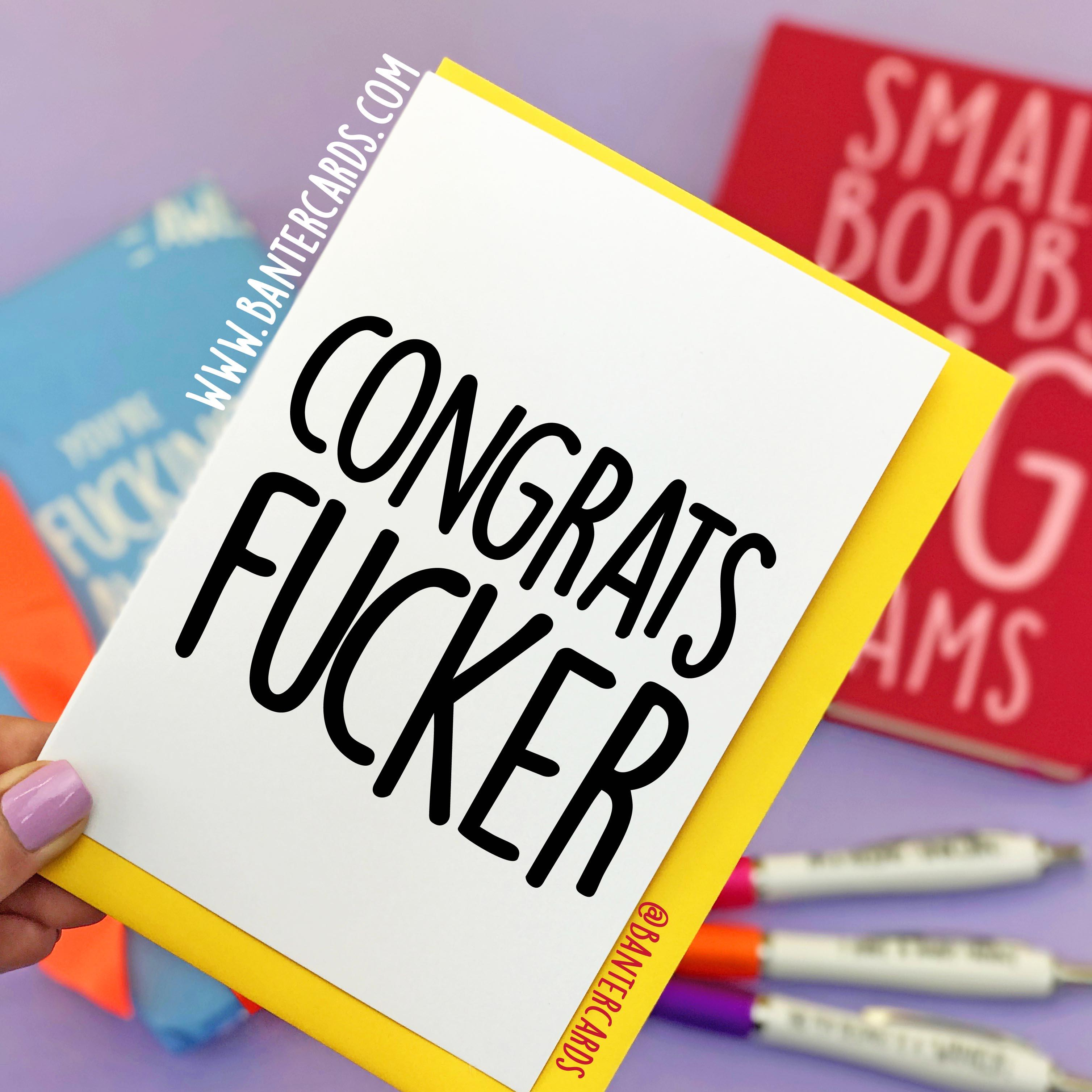 Congratulations cards for new job