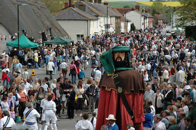 Downton Cuckoo Festival And The Dorset Knob Throwing Festival