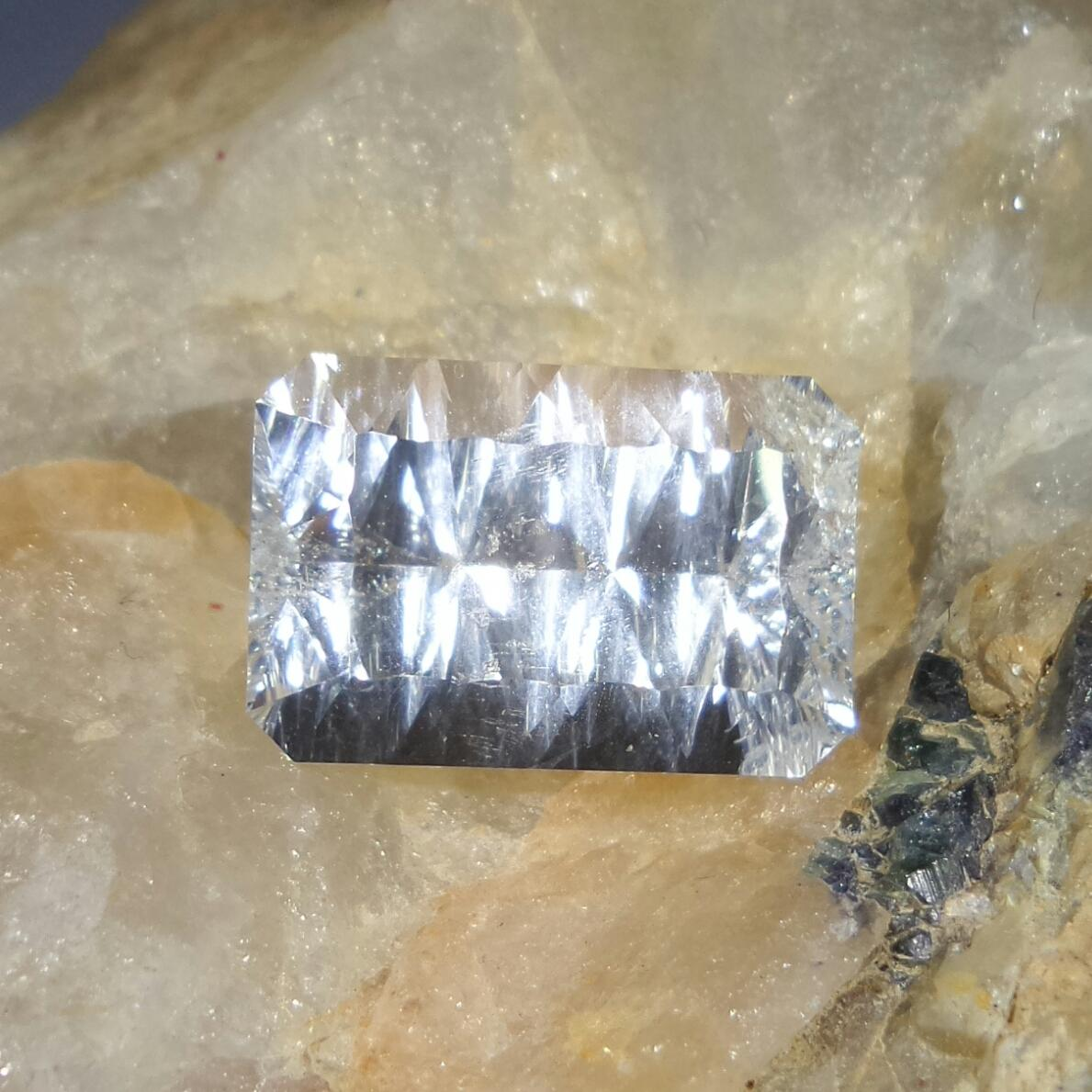 Aquamarine 5.81 cts Emerald Cut