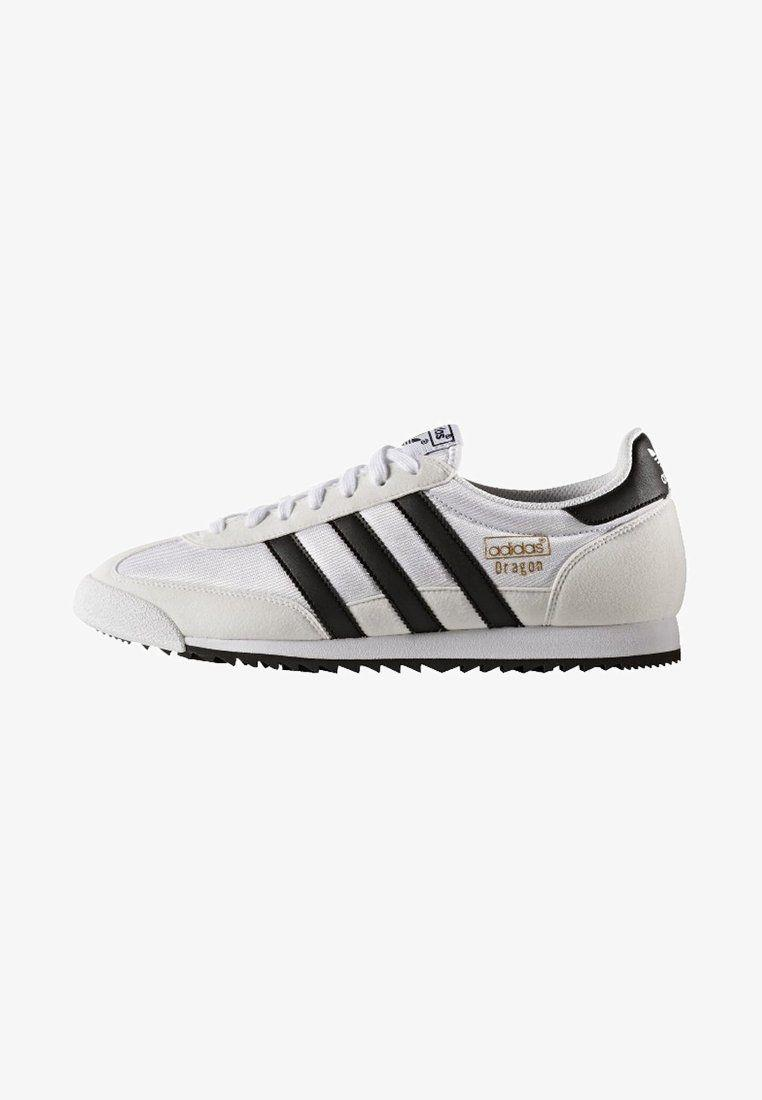 timeless design 99be8 712b7 Adidas Originals Dragon Og White Black Trainers