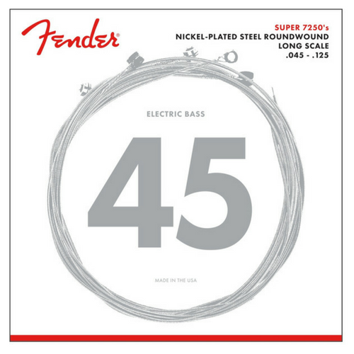 Fender Super 7250s Electric Bass Guitar Strings