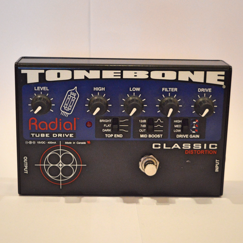 Radial Tonebone Classic Distortion Guitar Effect Pedal