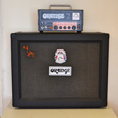 Orange Jim Root Signature #4 Terror Head and 2x12 Cabinet Electric Guitar Amp