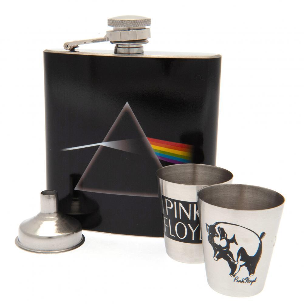 Pink Floyd Hip Flask Set Official Merchandise