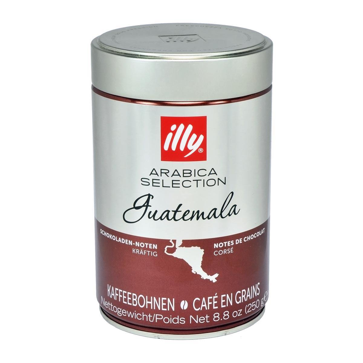 Illy Arabica Selection Guatemala Coffee Beans 250g Tin