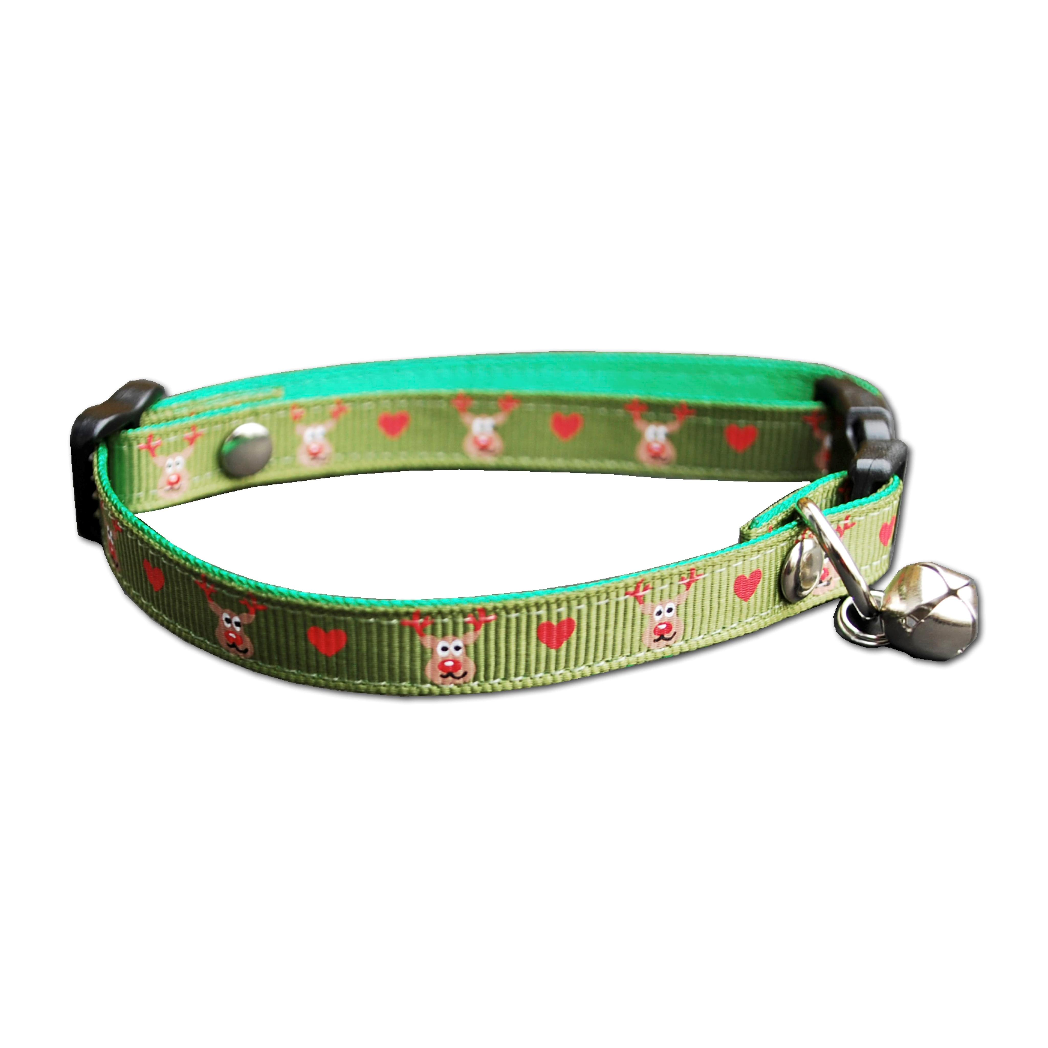 christmas day cat collars