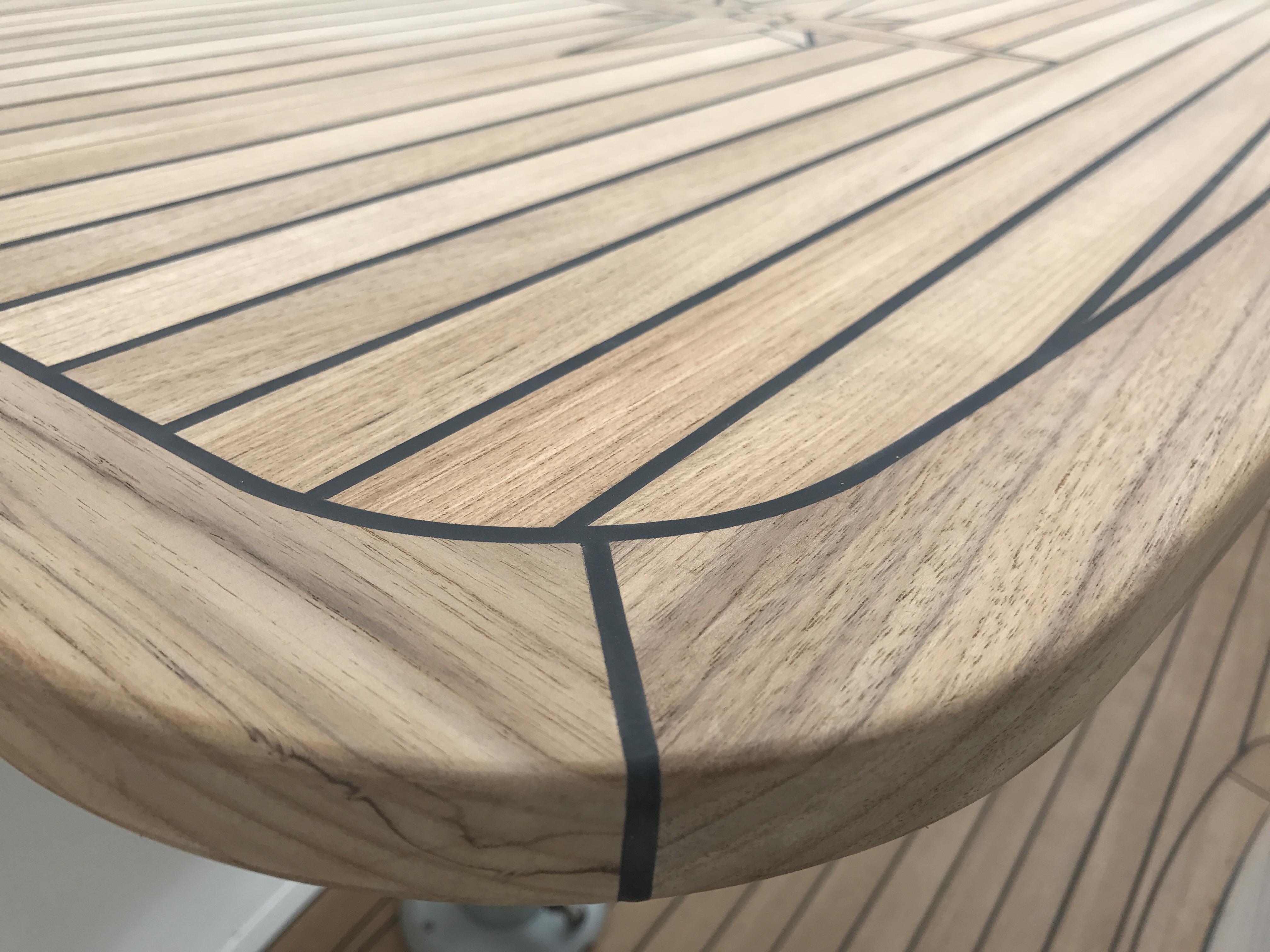Sealine S41 S42 S43 Teak Boat Table Marine Teak