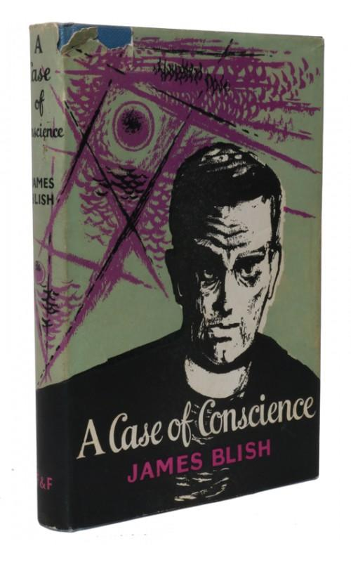 James Blish - A Case of Conscience - Faber, UK, 1966 - First Edition, Second Impression