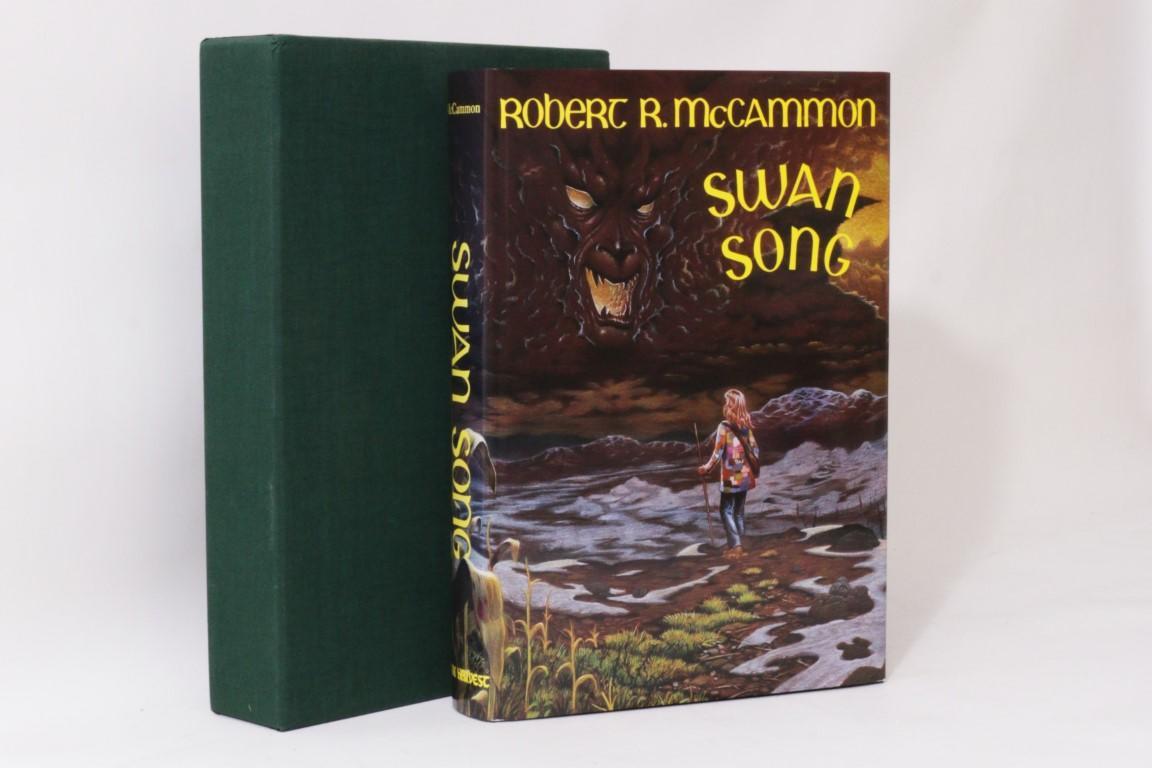Robert R  McCammon - Swan Song - Dark Harvest, Signed