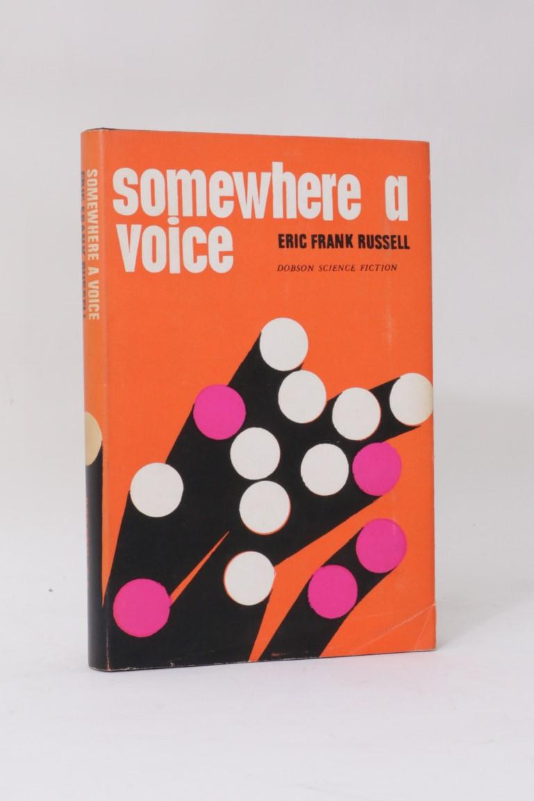 Eric Frank Russell - Somewhere a Voice - Dobson, 1965, First Edition.