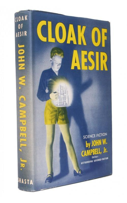 John W. Campbell - Cloak of Aesir - Shasta, US, 1952 - First Edition