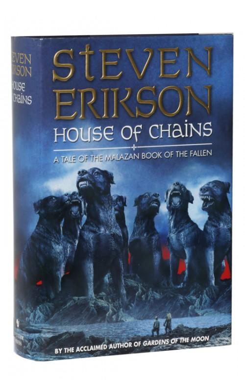 Steven Erikson - House of Chains - Bantam, 2002, UK Signed First Edition