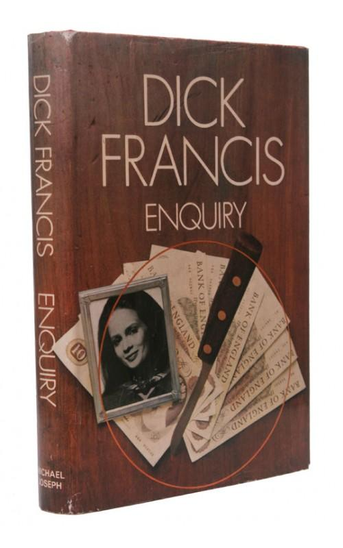 Dick Francis - Enquiry - Michael Joseph, 1969, UK First Edition