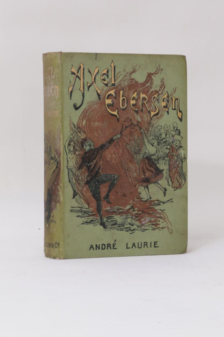 Andre Laurie - Axel Ebersen - Sampson Low, Marston & Co., 1892, First Edition.