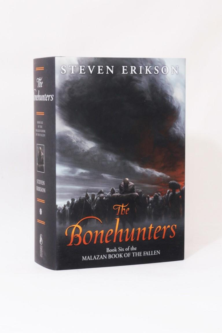 Steven Erikson - The Bonehunters - Subterranean Press, 2016, Signed Limited  Edition.