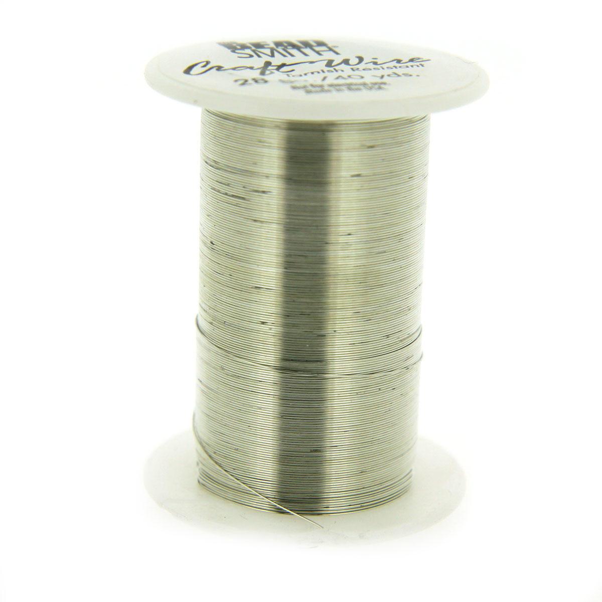 Silver Non Tarnish Craft Wire