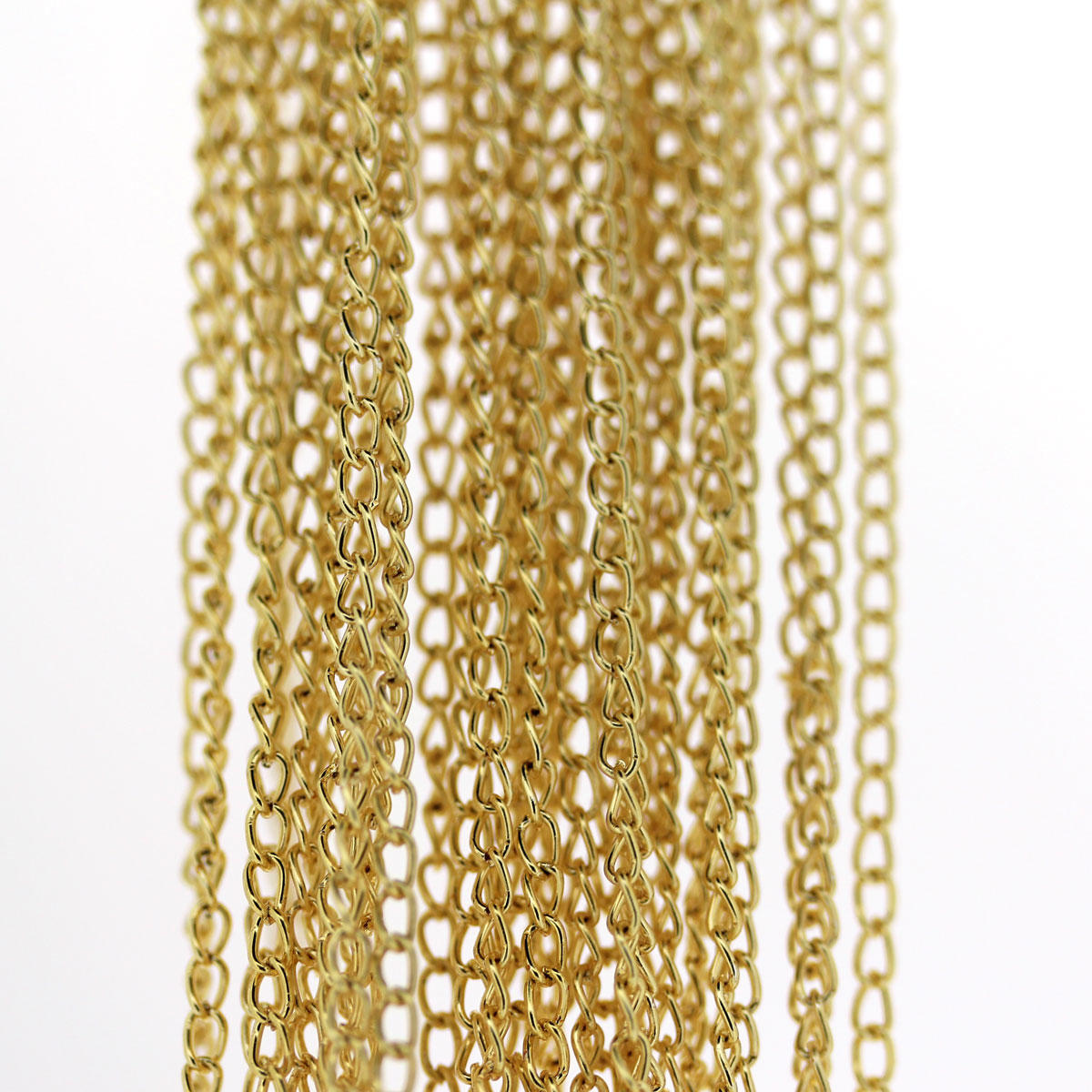 Gold Fine Cable Chain