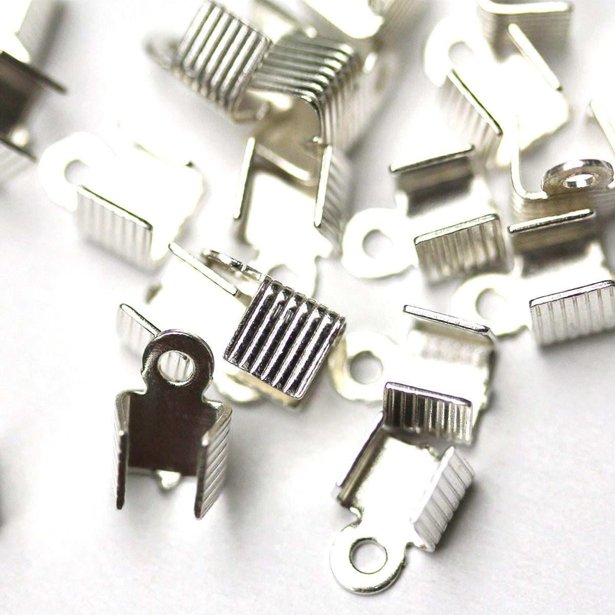 Silver Strong Folding Crimps