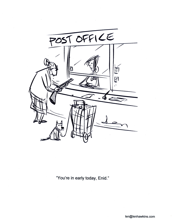 Len Post Office