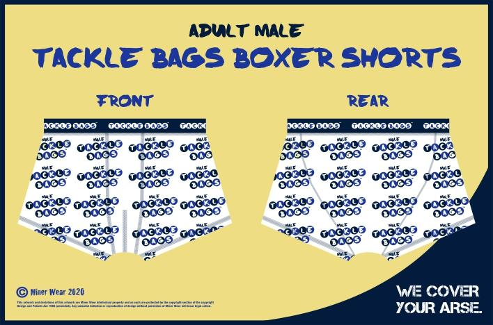 Tackle Bags Adult Male Logoed Shorts