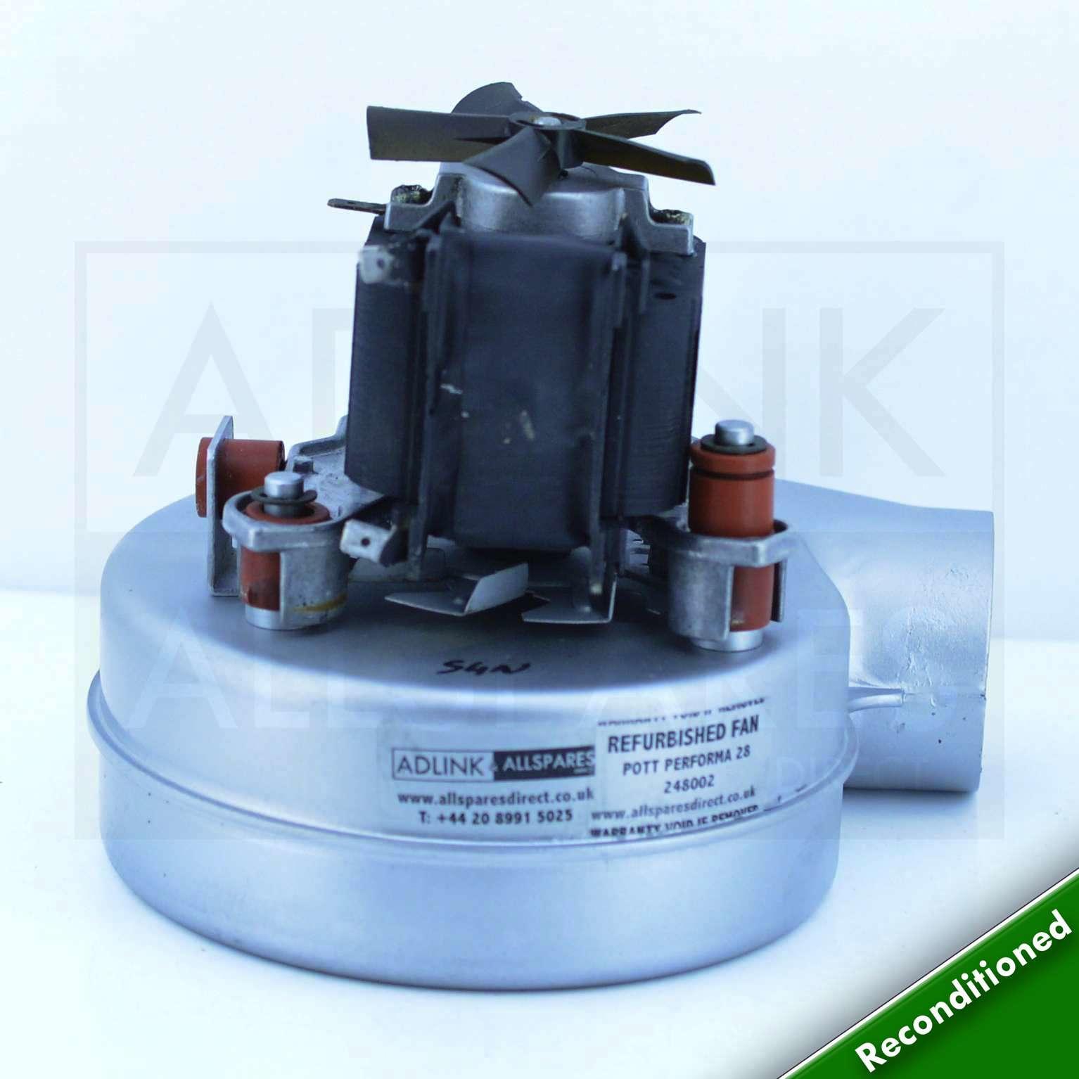 Baxi Combi 105e Amp Combi Instant 105e Boiler Fan 248002