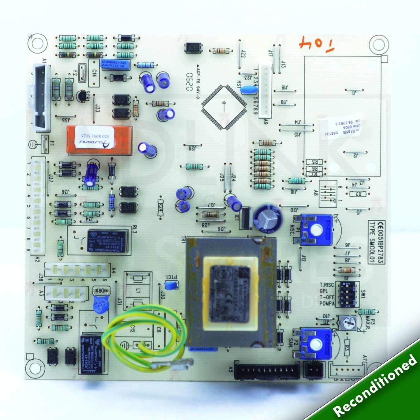 MAIN COMBI 30 HE (B) BAND BOILER PCB 5112380