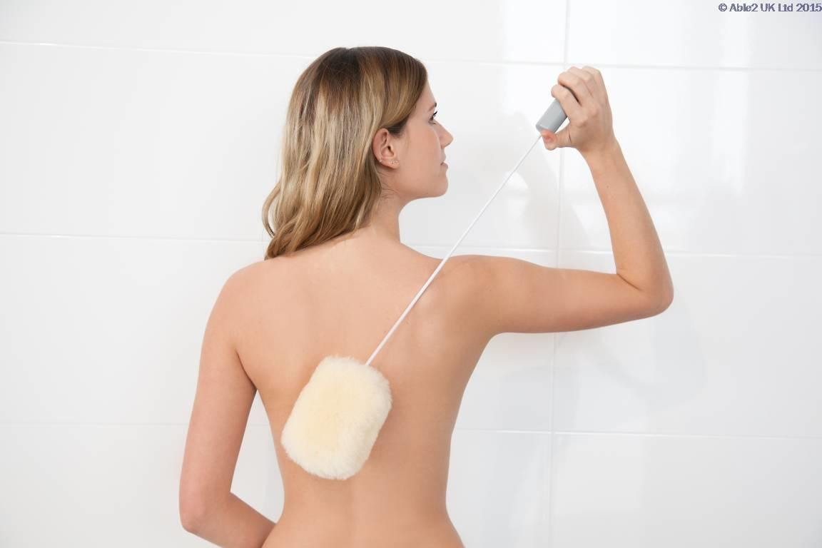 Atlantis Long Bendable Handled Sheepskin Pad