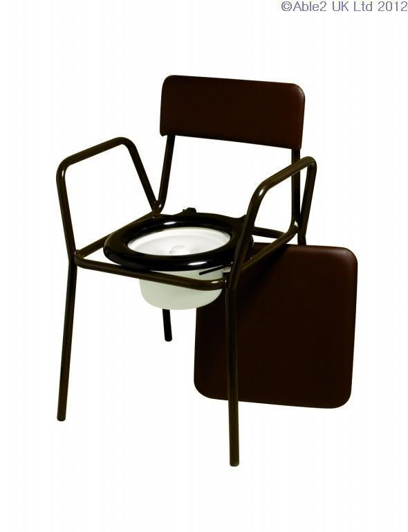 Compact Commode Chair