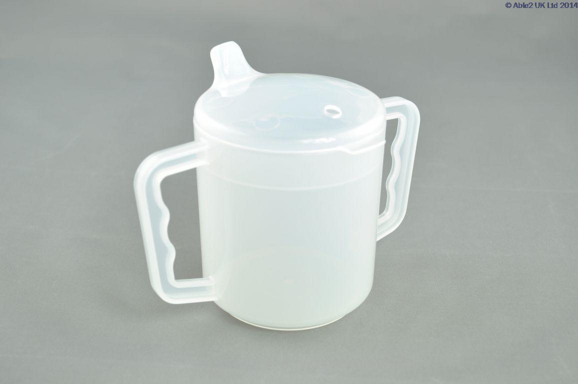 Two Handled Mug With Spout