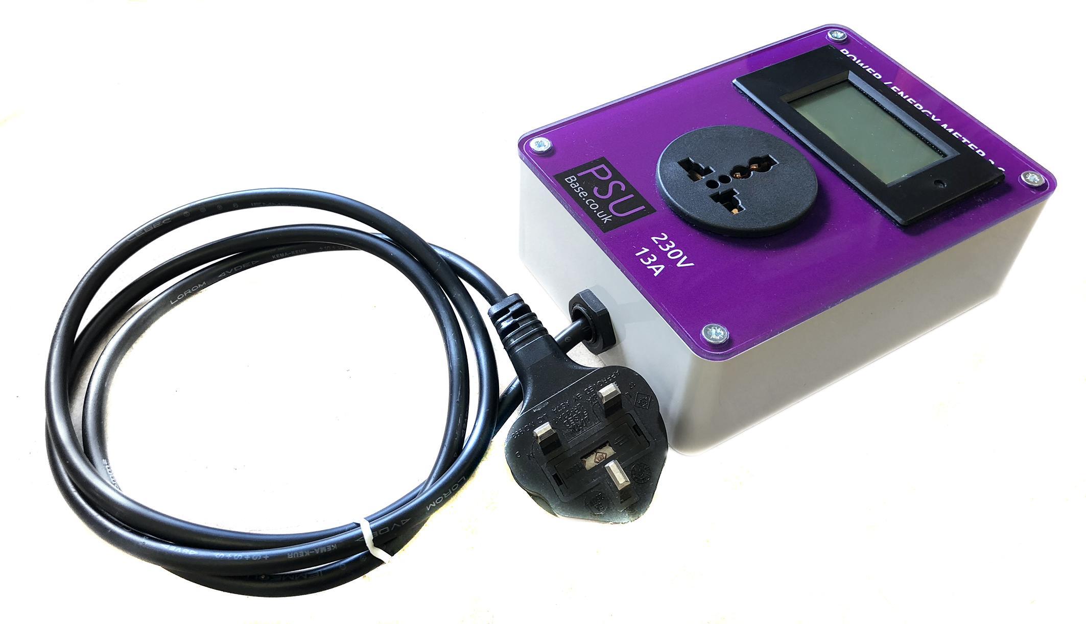 Power/Energy meter 230V ac 13A