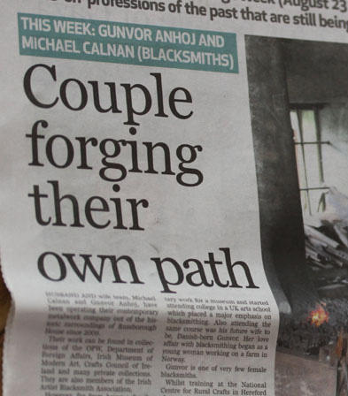 Couple forging their own path