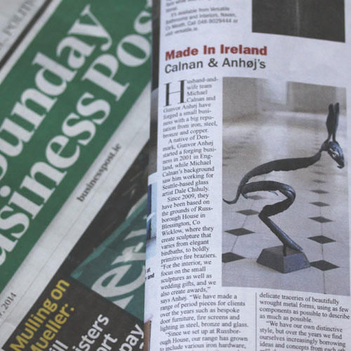 'Made In Ireland' - Sunday Business Post Article