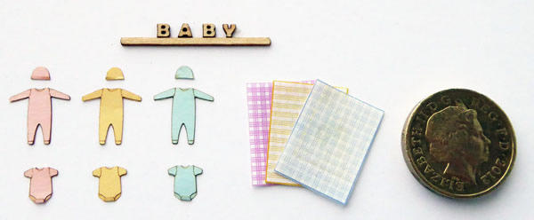 Accessories for 1/48th scale Baby Shop