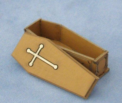 1/48th scale open Coffin