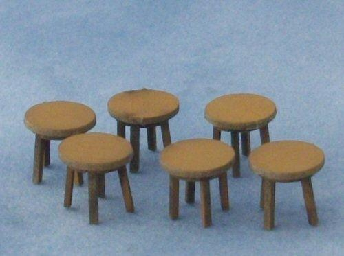 1/48th scale Four Short Stools Kit