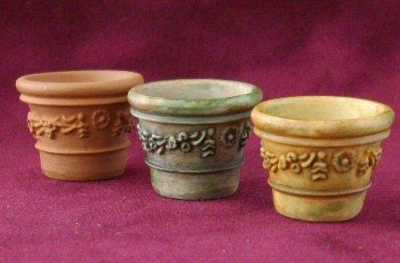 1/24th scale Victorian Plant Pots
