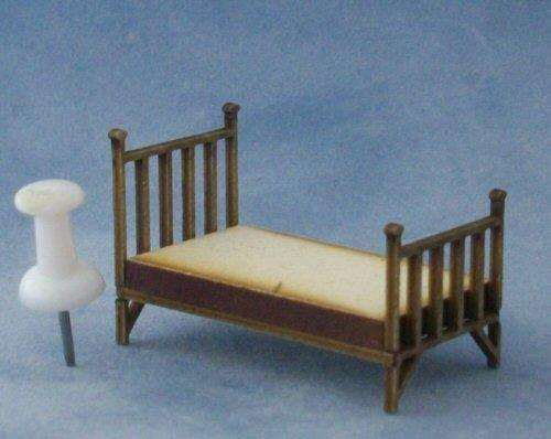 Quarter scale Single Brass Bed Kit