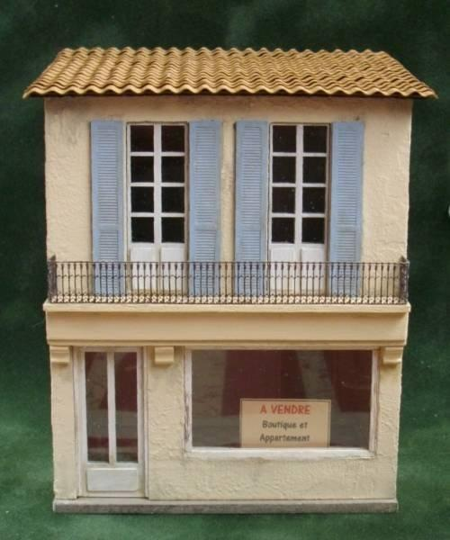 1/48th scale Shop Kit La Petite Fleuriste