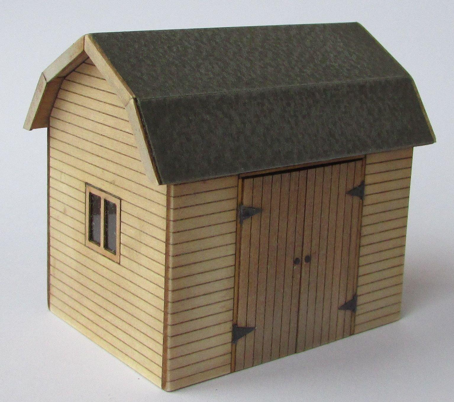 1/48th scale Dutch Workshop or Shed Kit