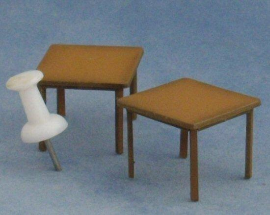 1/48th scale Two Square Tables Kit