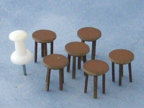 1/48th scale Four Tall Stools Kit