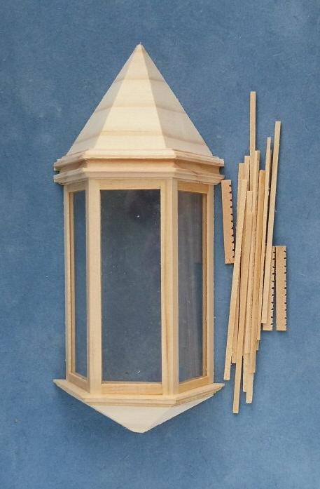 Half scale Houseworks Victorian Bay Window