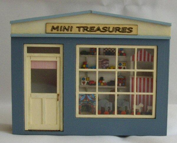 My 1/48th scale Pocket Toy Shop Kit
