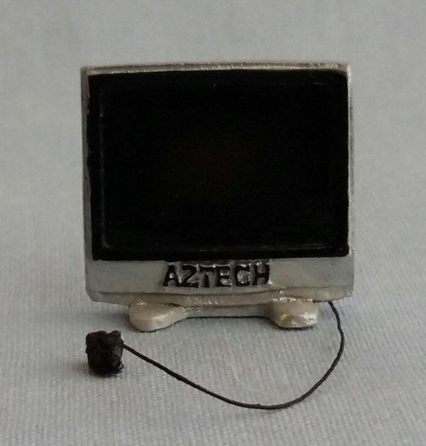 1/24th scale Modern Flat Screen TV 50""