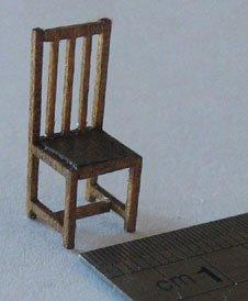 1 48th Scale 2 Dining Chairs Kit