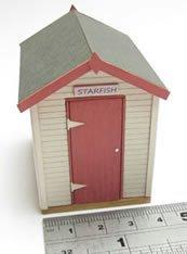 1/48th scale Wooden Beach Hut Kit
