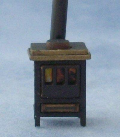 Quarter scale Stove Kit