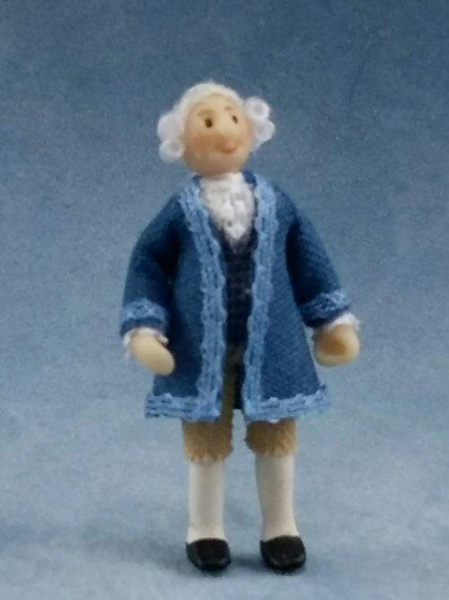 1/48th scale Dolls House Georgian Man