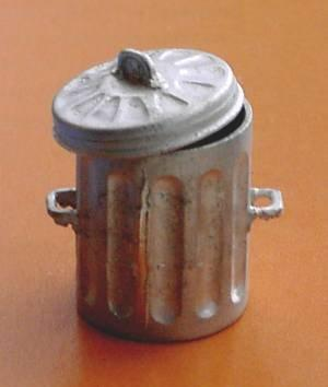 1/48th scale Metal Dust Bin