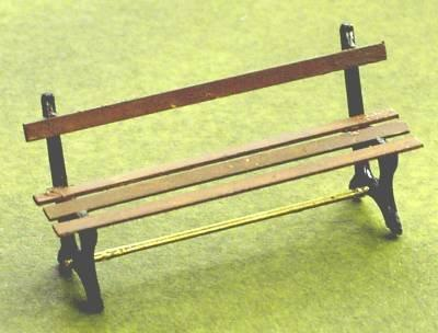 1/48th scale Garden Bench